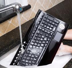 Seal shield s103 silver surf usb multimedia keyboard dishwasher