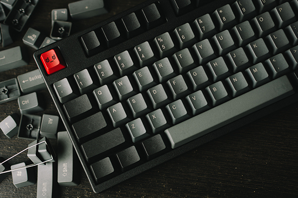 Filco TKL with Vortex keycaps, by scaryPug. Used with permission.