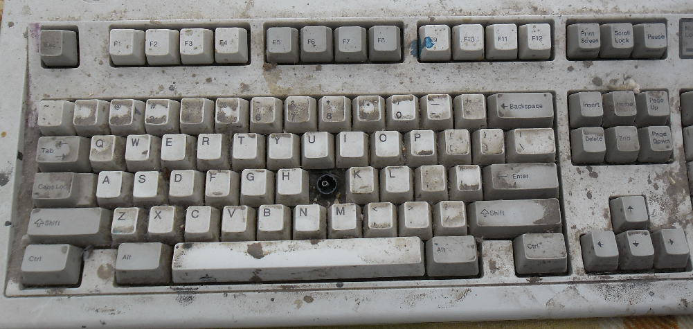 how to fix spring sound in mechanical keyboard