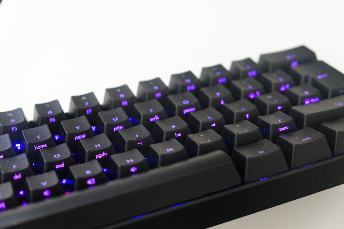 The Keyboard Company 2 Way Switch Box V60 Plus Dual Backlit 60 Speed Review