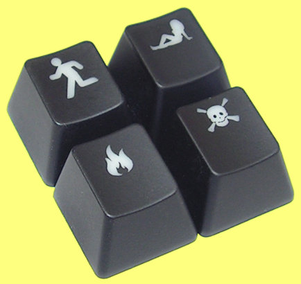 KCP004 - Cherry MX Accessory Keycap Set 1