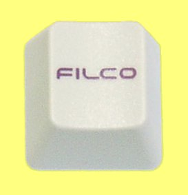 WEB045 - Beige Keycap Printed with Filco Logo