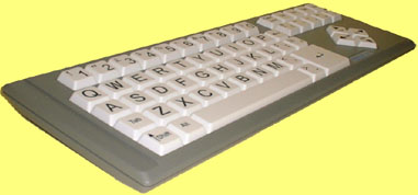 So, here it is... except her keyboard doesn't have the semi-colon in the right place so the home keys are messed up.