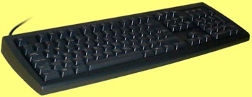 KBC-105BC/USB - Black USB keyboard