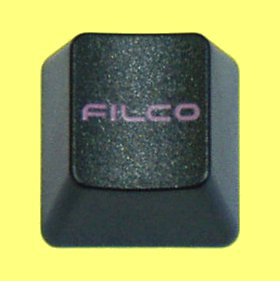 WEB044 - Black Keycap Printed with Filco Logo
