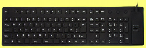 KBC-50109 - Flexible full sized (roll-up) keyboard