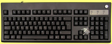 KBC-105LOKB - Black lockable keyboard