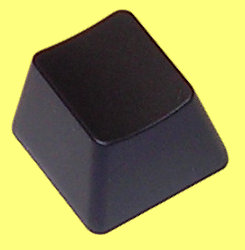 PLS04B - Filco, Blank Black Keycap for Cherry MX Switches Top Rows