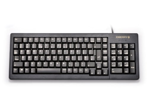 G84-5200LCMGB-2 - Compact Flat and Extremely Robust Linear Keyboard