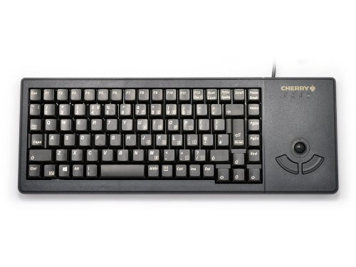 G84-5400LUMGB-2 - Compact Flat and Extremely Robust Linear Trackball Keyboard