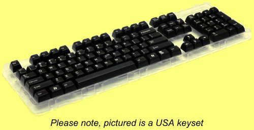 SPKCS105D/GR - Double Shot Filco 105 Key German Keyset