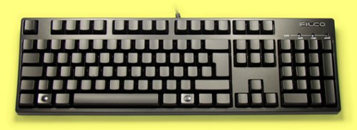 FKBN105M/XXB2 - Blank 105 key Filco Majestouch, NKR, Tactile Action Keyboard
