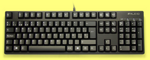 FKBN105M/SPB2 - Spanish Filco Majestouch-2, NKR, Tactile Action Keyboard