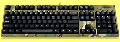 FKBN104M/EMU2 - Camo Filco Majestouch-2, NKR, Tactile Action, USA Keyboard