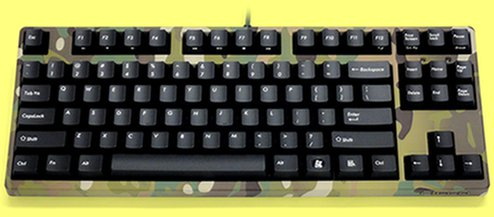 FKBN87M/EMU2 - Camo Filco Majestouch-2, Tenkeyless, NKR, Tactile Action, USA Keyboard