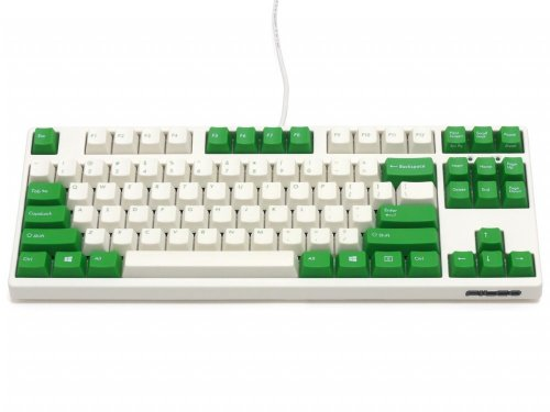 FKBN87M/EWG2 - Filco Majestouch-2, Tenkeyless, NKR, Tactile Action, USA, Cream and Green Keyboard