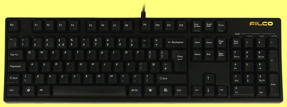 FKBN105ML/UKB - UK Filco Majestouch, NKR, Linear Action Keyboard