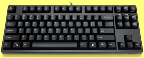 FKBN87M/EB2 - Filco Majestouch-2, Tenkeyless, NKR, Tactile Action, USA Keyboard
