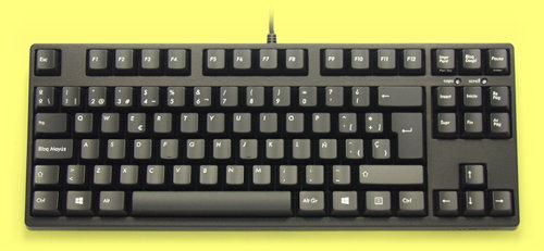 mi teclado filco, que me tiene más feliz que una lombriz