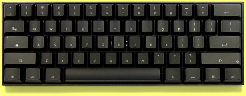 KBP-V60-W-B/R - USA V60 Dual Backlit 60% Hard Tactile Keyboard