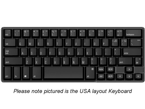 FK602QPC-ND - Nordic Matias 60% Quiet Click PC Keyboard