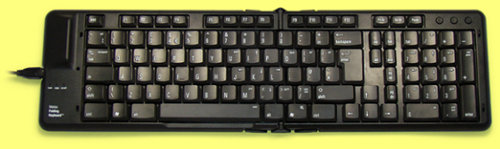 FK205-UK - Matias Folding Keyboard for Windows, UK Layout