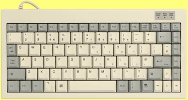 KBC-1525/95 - Mini keyboard, Beige, PS/2