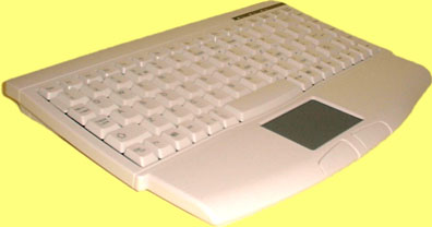 KBC-1540TP - Mini keyboard, Beige, PS/2 with built in Touchpad