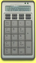 KBC-18ES - Silver Keypad and Standalone Calculator
