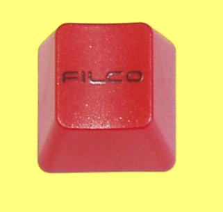 WEB061 - Red Keycap Printed with Filco Logo