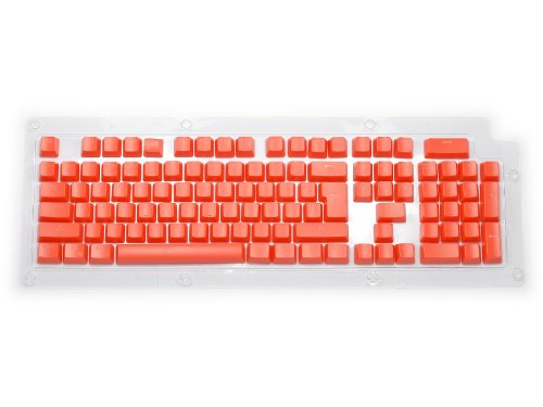 KBC-KS1-RED - Double Shot Keyset Red USA PC Full for Backlit Cherry MX Switches
