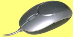 KBC-LYLVIIIUP - Silver optical, 3 button, scroll mouse, PS/2 and USB
