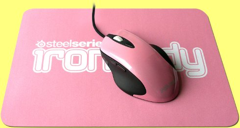KBC-STE001 - iron.lady Ikari Laser Mouse and Mouse Pad