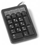Programmable Keypad, Black PS/2 with Pass Thru Port