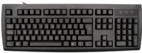 Standard, black keyboard with lower case legends, USB