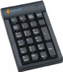 Black USB GoldTouch Hub Keypad