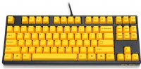 Filco Majestouch-2, Tenkeyless, NKR, Tactile Action, USA, Yellow Key Keyboard