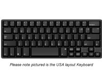 German Matias 60% Quiet Click PC Keyboard