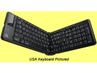 Matias Bluetooth Folding German Keyboard for iPad and iPhone