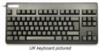 German Topre Realforce 88UB 45g Key Black on Black Mini Keyboard