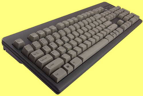 YK2100 - USA Topre Realforce 104UG HiPro 45g Black Keyboard