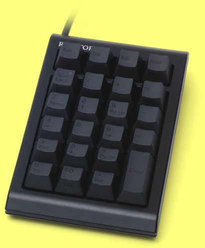 WC01B0 - Topre Realforce 23UB Black Capacitive Keypad