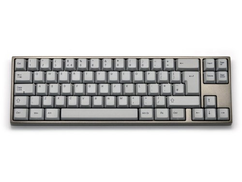 VA69AN2R/LTG2U - UK VA69M PBT Red Backlit Aluminum Alloy Light Grey Tactile Keyboard