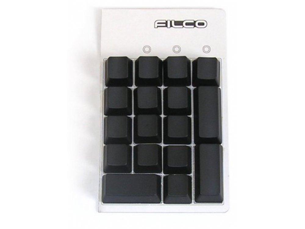Blank, Black Filco 17 Key Keypad Keyset