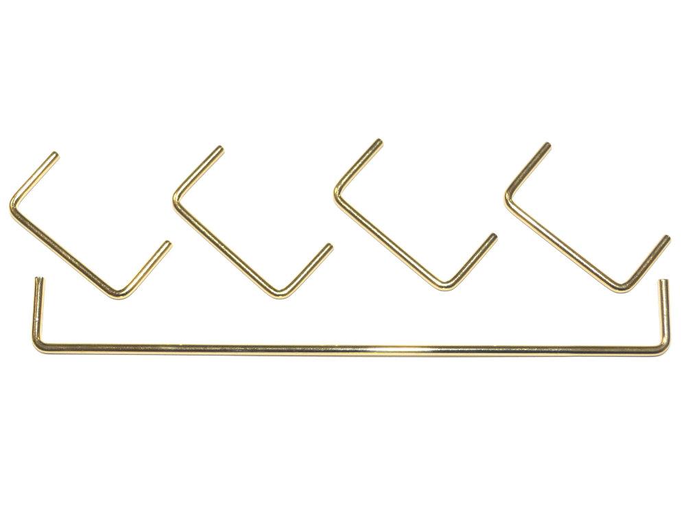Cherry MX 24K Goldplated Stabilizer Wires 60% 6u Set
