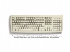 Standard Foreign Language Keyboards, Beige, USB