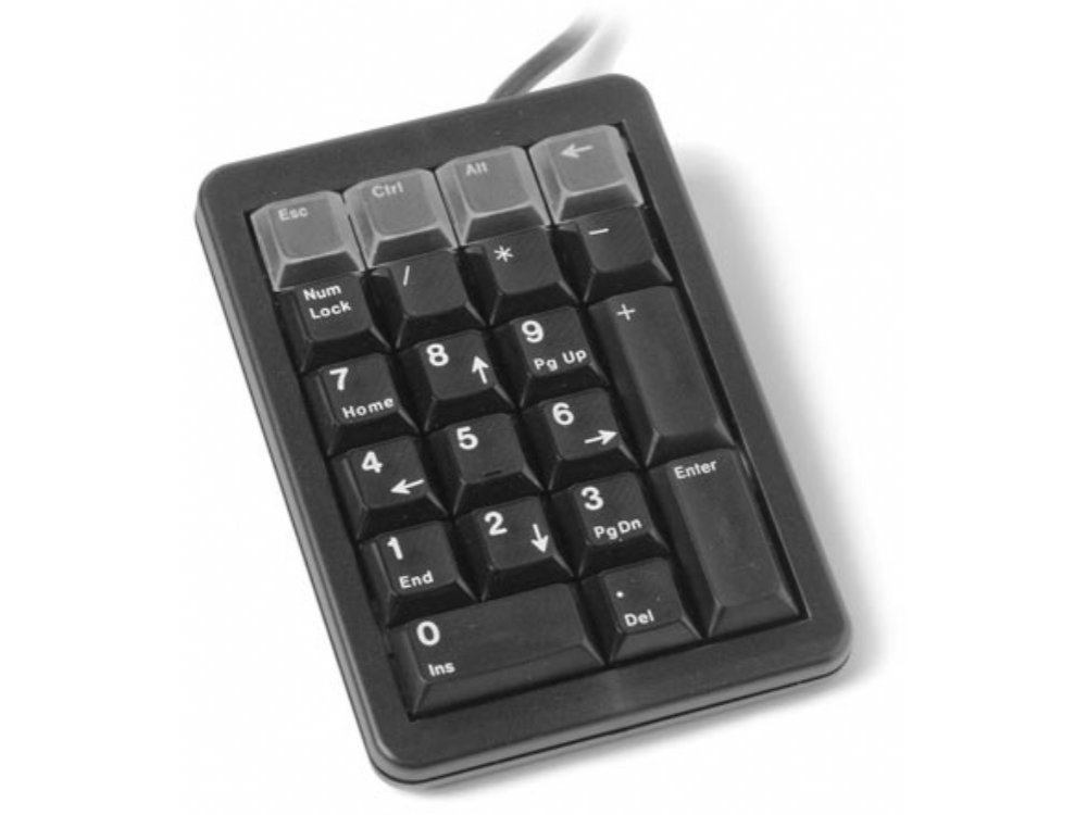 Programmable Keypad Black USB