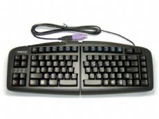 Black Goldtouch V2 Adjustable Comfort Keyboard