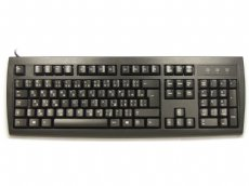 USA International keyboard, black, USB