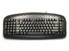 Black Left-Handed Keypad Keyboard